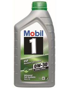 mobil 1 esp 0w 30 mobil passenger vehicle engine oils. Black Bedroom Furniture Sets. Home Design Ideas