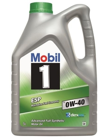 mobil 1 esp x3 0w 40 mobil passenger vehicle engine oils. Black Bedroom Furniture Sets. Home Design Ideas